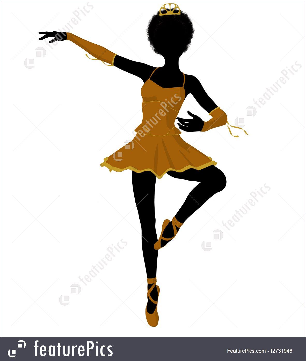 1182x1392 Ballerina Illustration Silhouette I2731946