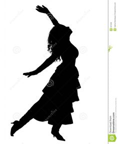 236x288 African Dancer Silhouette African Dancers Silhouette Artwork