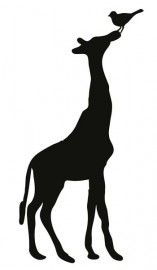 157x270 Vector Silhouettes Of Many Different African Animals In Profile