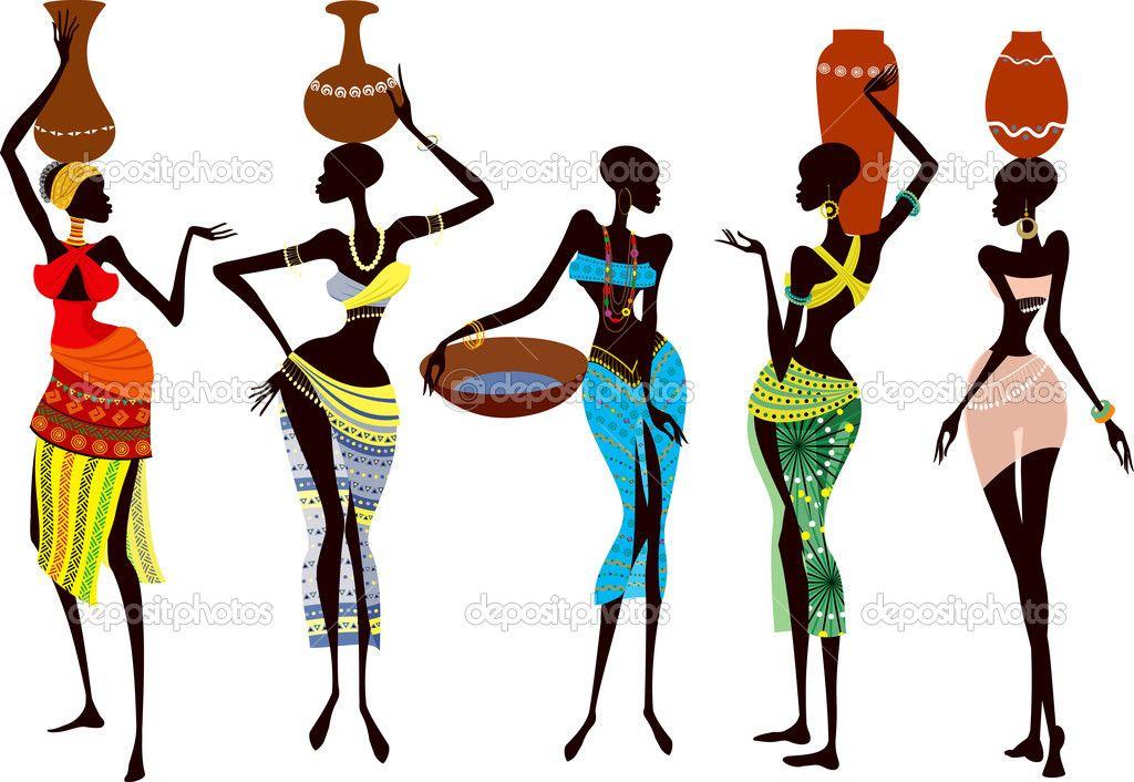 1024x706 African Woman Silhouette Beautiful African Women