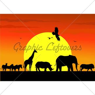 325x325 Animals Savannah Gl Stock Images