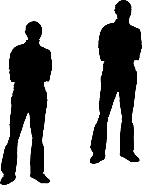 456x593 Black Man Ev Clip Art