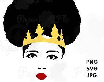 340x270 Black Woman Queen Afro Svg Diva Jpg File Queen Png Digital Art