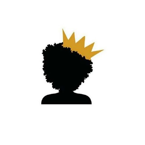 500x500 Black, Power, And Crown Image Beautiful In Black