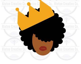 340x270 African Queen Svg Etsy