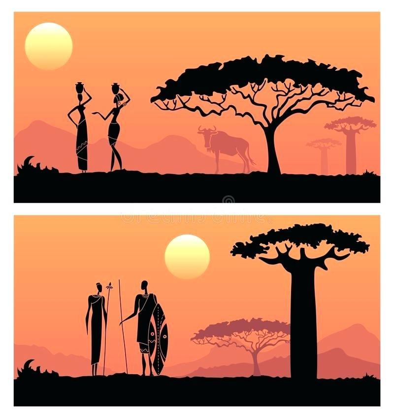 800x850 African Sunset Landscape Sunset African Safari Landscape Sunset