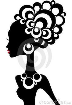 236x343 African Woman Silhouette Clip Art African American Woman