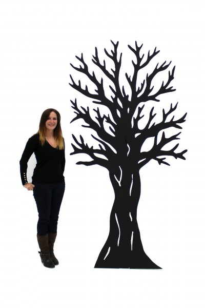 400x600 2d Tree Silhouette Scenery Theming Hire Event Prop Hire