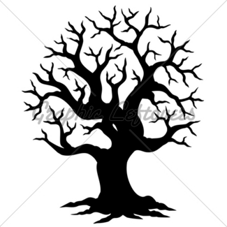 325x325 Tropical Tree Silhouette Gl Stock Images