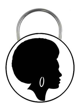 Afro Girl Silhouette
