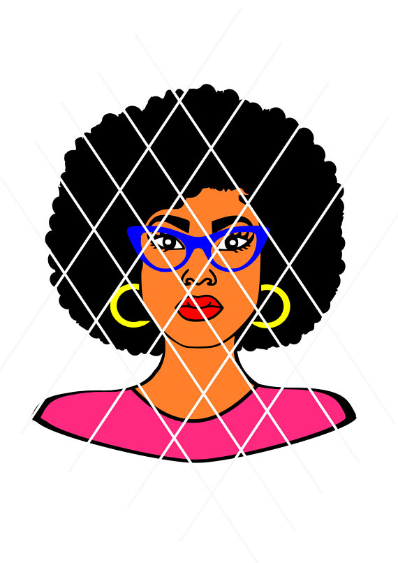 570x806 Afro Puffs Svg,afro Lady Svg, Sistah Svg,silhouette Svg,t Shirt