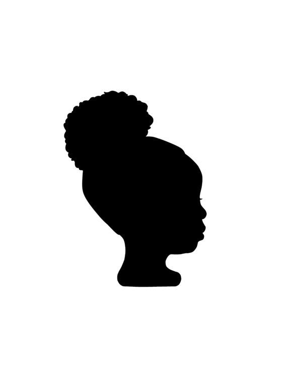 570x760 Digital Custom Silhouette Portrait Silhouettes, Portraits