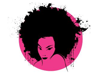 330x250 Afro Girl Logo Design