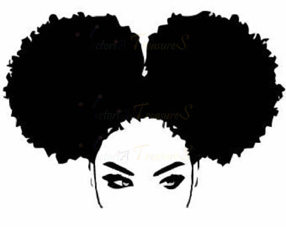 570x452 Afro Svg Afro Lady Haircut Svg Afro Lady Silhouette Afro