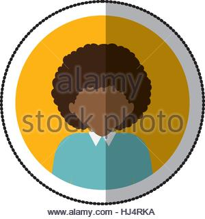 300x320 Man With Afro Avatar Icon Image Stock Vector Art Amp Illustration