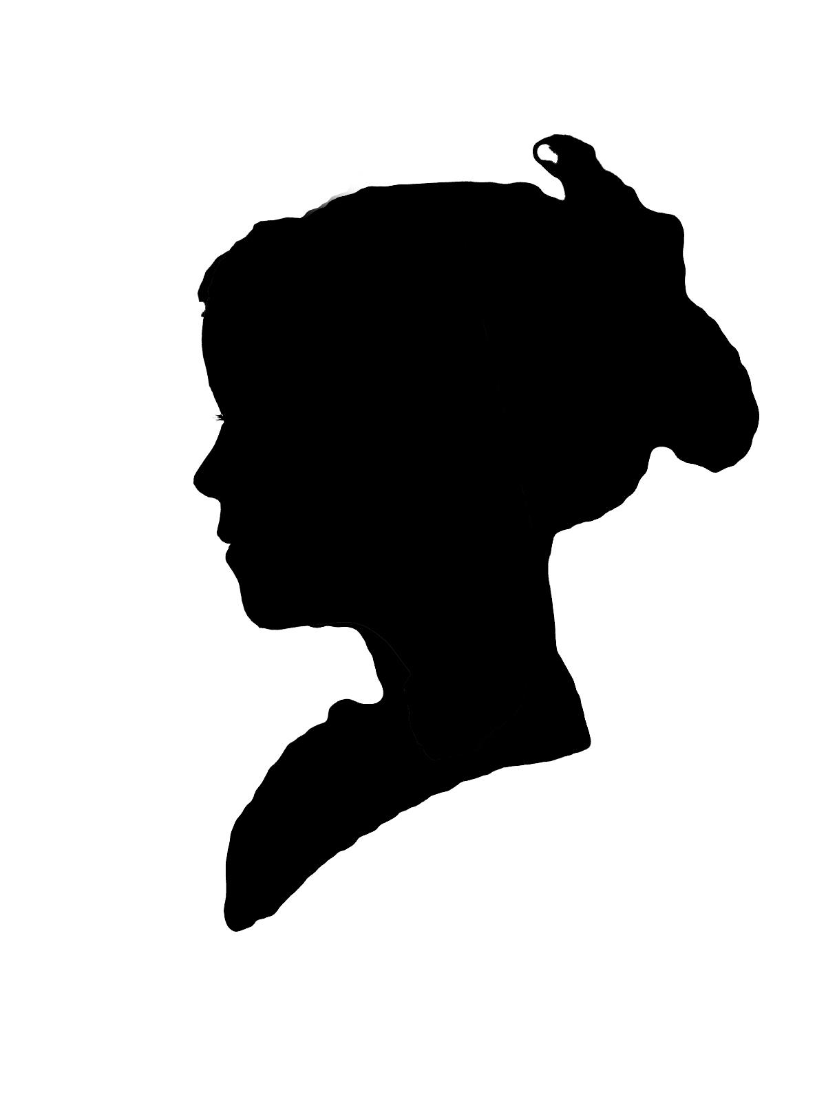 1200x1600 Portrait Silhouette Clip Art 101 Clip Art