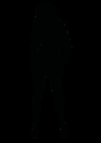353x500 22932 Free Black Woman Silhouette Clip Art Public Domain Vectors