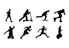285x200 Active Silhouettes Free Vector Graphic Art Free Download (Found
