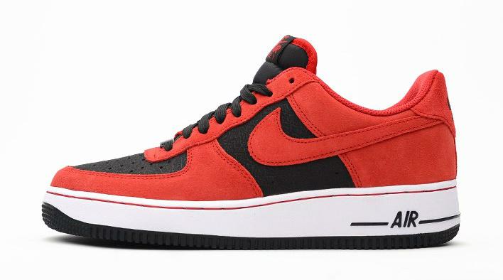 708x394 Nike Air Force 1 Low Blackuniversity Red Sbd