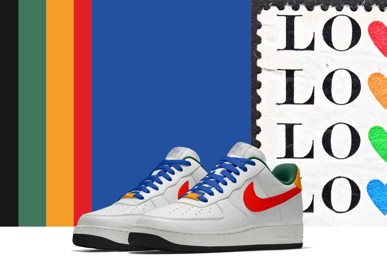 fb5d69f5a2c3 1350x901 Queen Ruba Designs A Colorful Nike Air Force 1 Cnk  Dailychicksnkicks