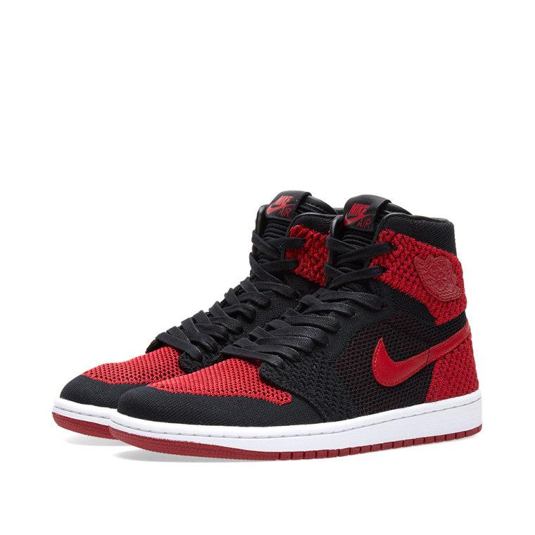 3f1d7c033714 760x760 Nike Zoom Air Jordan 1 Retro High Flyknit Gs (Black