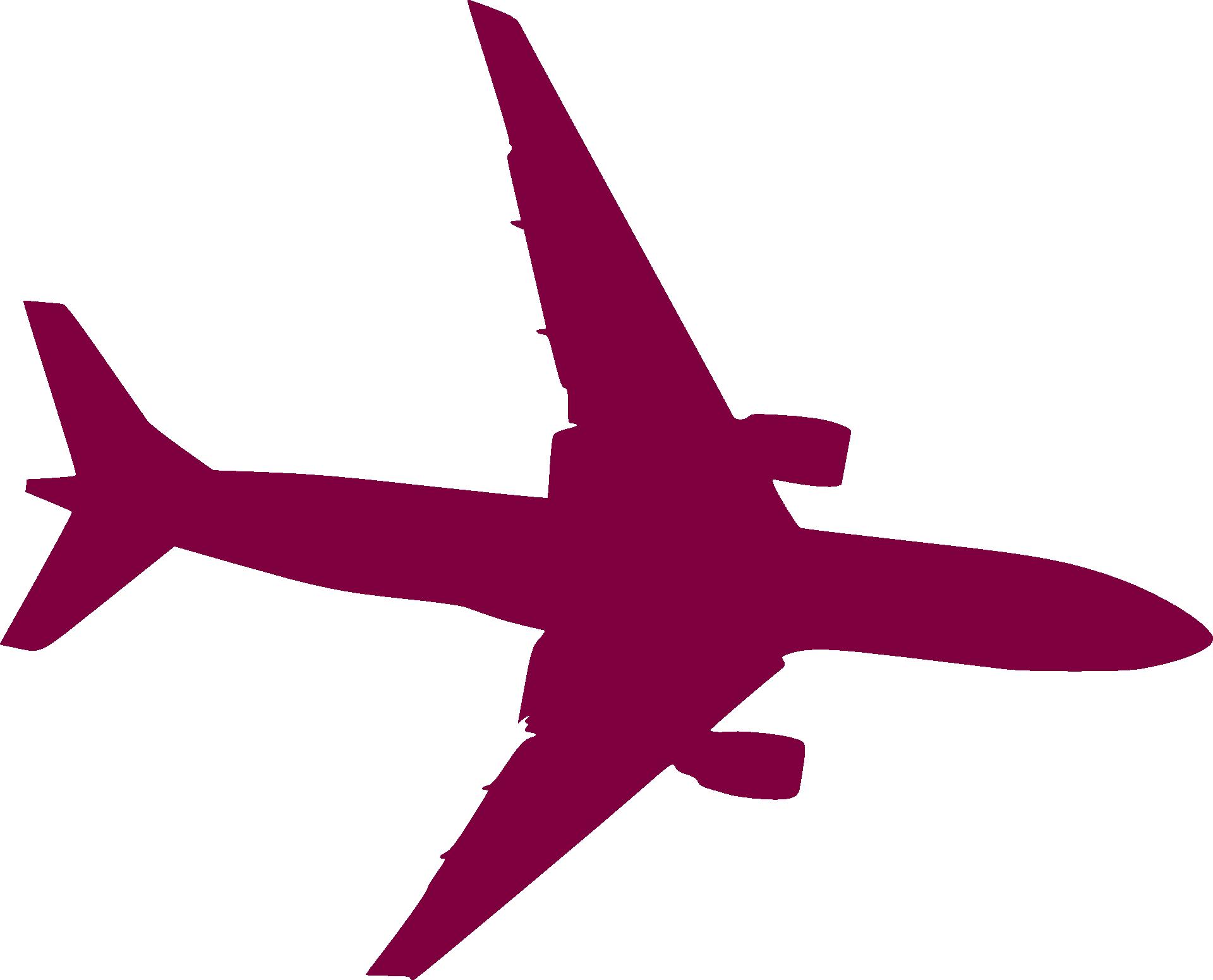 1920x1551 Airplane Aircraft Silhouette Clip Art