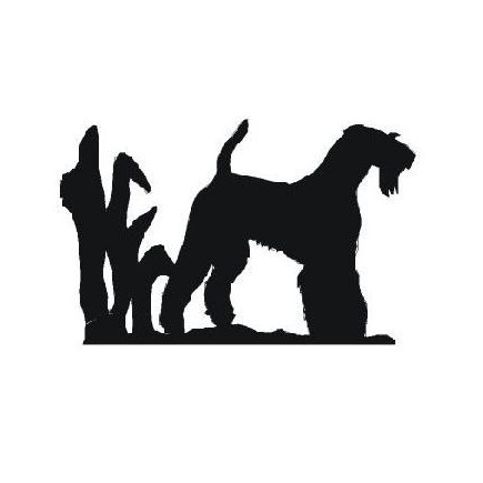 435x435 Airedale Terrier Glassware Gifts