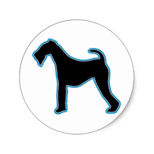307x307 Airedale Terrier Silhouette Gifts Amp Gift Ideas Zazzle Uk