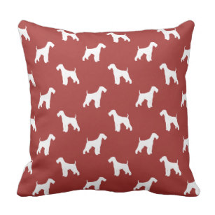 307x307 Airedale Terriers Pillows