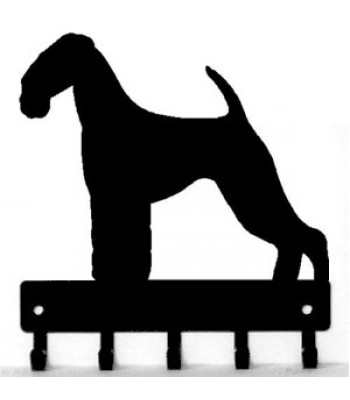 350x400 Dog Welcome Sign Breed Airedale Terrier