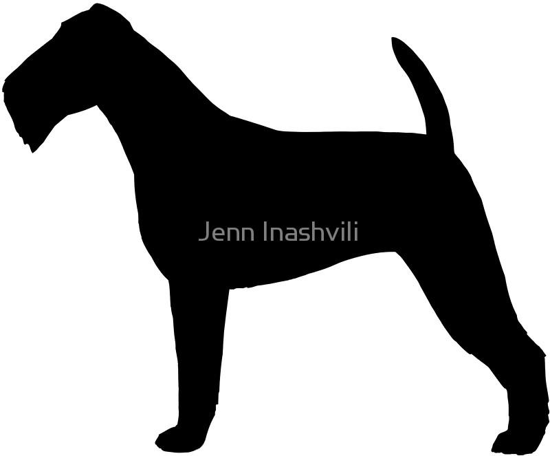 800x663 Irish Terrier Silhouette(S) Stickers By Jenn Inashvili Redbubble