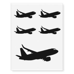 307x307 Airport Temporary Tattoos Zazzle