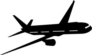 300x179 Free Plane Clipart Collection