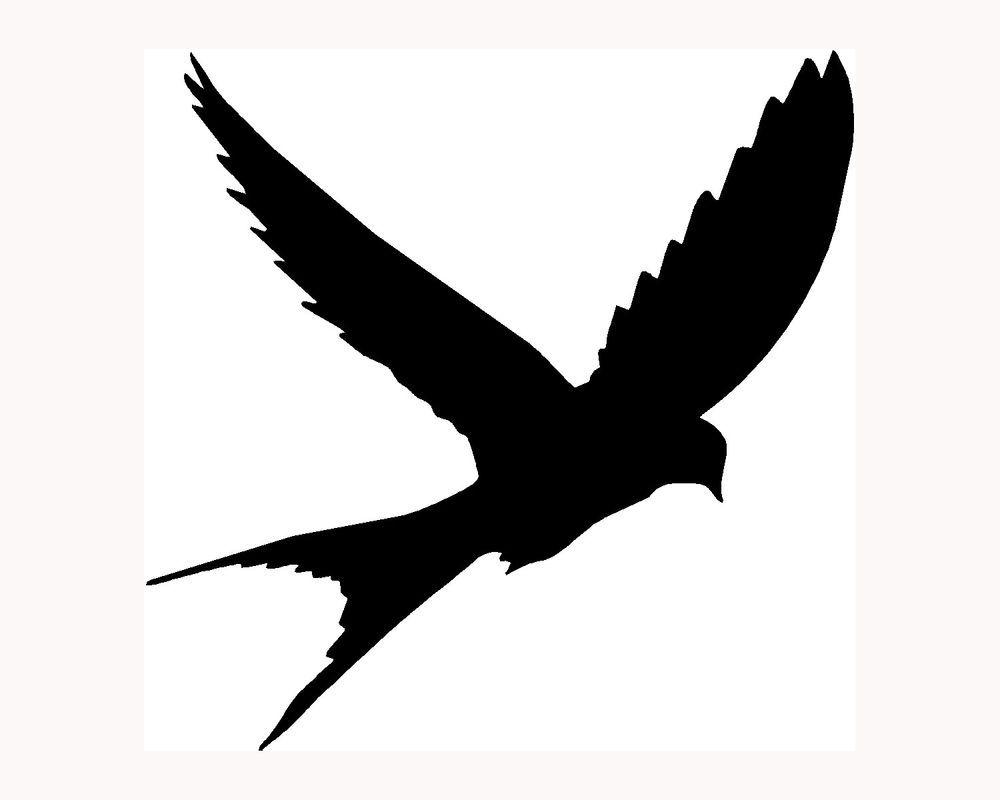 1000x800 Simple Bird Silhouette Clipart