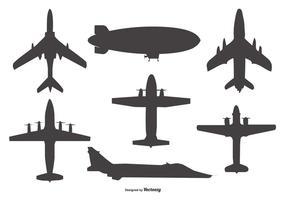 286x200 Airplane Banner Free Vector Art