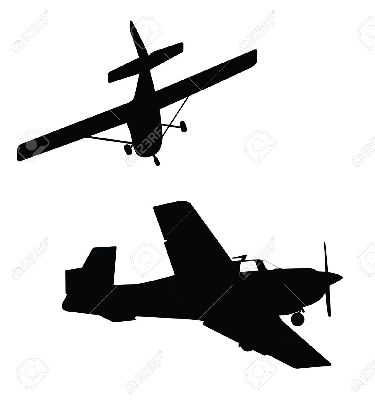 airplane silhouette vector at getdrawings com free for personal