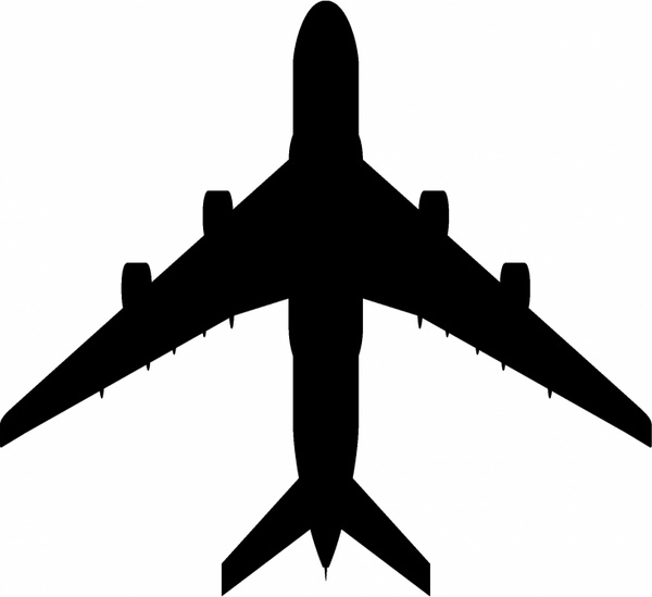 airplane silhouette vector at getdrawings com free for personal rh getdrawings com flight vector free airplane vector free ai