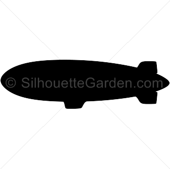 336x334 Blimp Silhouette Clip Art. Download Free Versions Of The Image