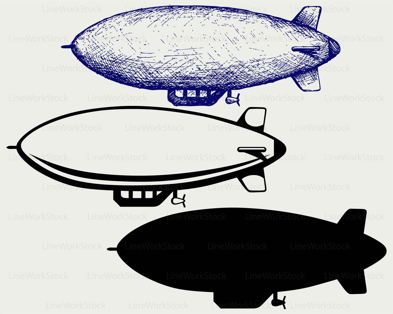 1500x1200 Dirigible Svg,dirigible Clipart,dirigible Svg,dirigible Silhouette