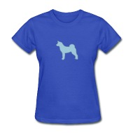 190x190 Akita Outlined Silhouette By Castaspell Spreadshirt
