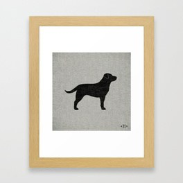 264x264 Dog Silhouette Framed Art Prints Society6