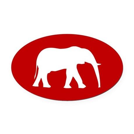 Alabama Elephant Silhouette