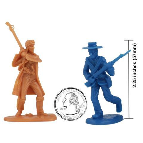 480x480 Bmc Alamo Plastic Army Men 37pc Set Texas Vs. Mexico 54mm Army