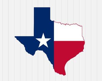 340x270 Texas Flag Svg Etsy