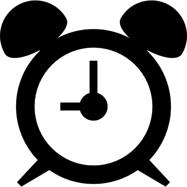 626x626 Circular Alarm Clock Icons Free Download