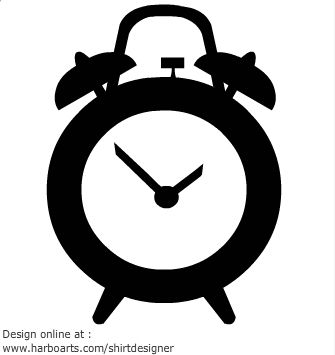 335x355 Alarm Clock Vector Clock Alarm Clocks