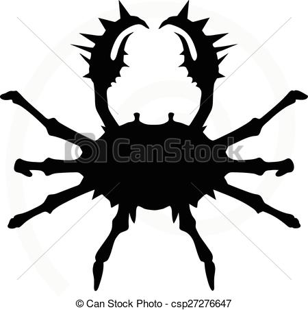 450x452 Crab Silhouette Vector Clipart Eps Images. 2,144 Crab Silhouette