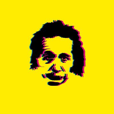 400x400 Gallery Vector Art Albert Einstein