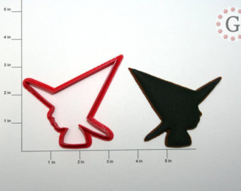 340x270 Alfred Hitchcock Silhouette Cookie Cutter
