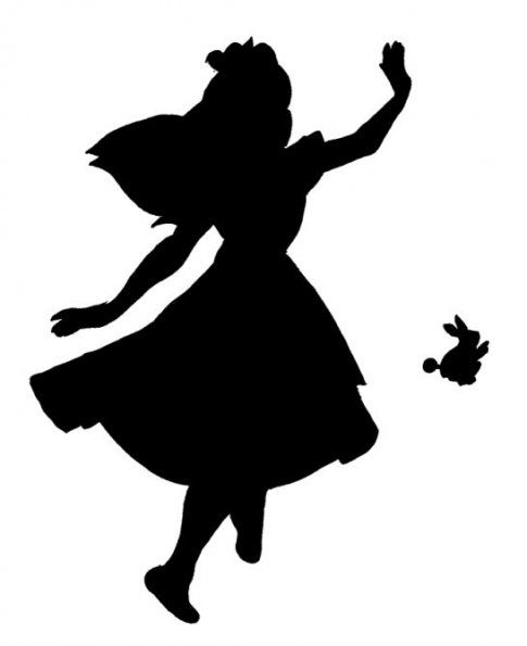 485x595 Alice In Wonderland Stencils Alice, Stenciling